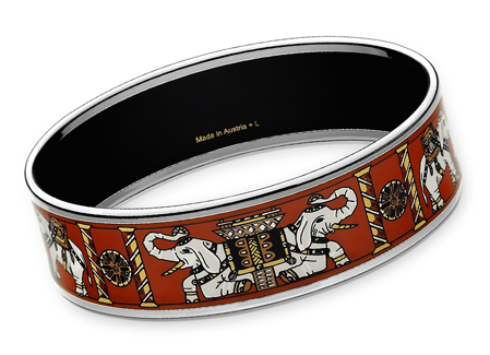 Torana Hermes Enamel Bangle