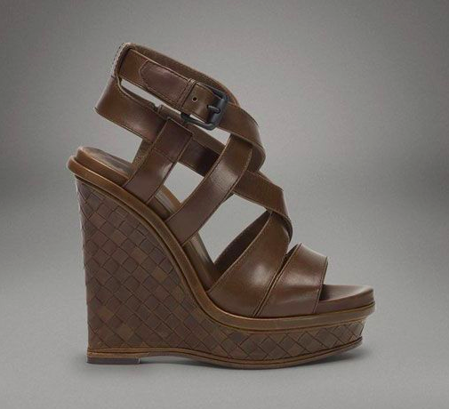 Bottega Veneta Chene Calf Wedge