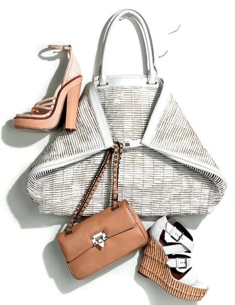 Spring Accessories: Natural Born Thrillers (Elle May 2011). Photo courtesy of Dan Forbes.