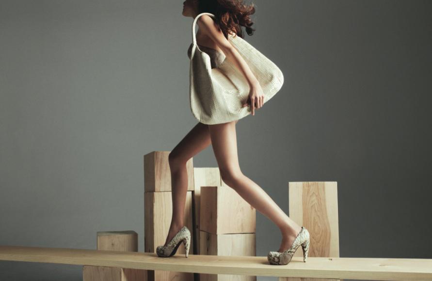 Devi Kroell Python Platform Shoes