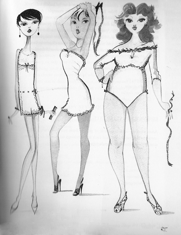 "Illustration by Ruben Toledo for ""Nothing to Wear"" by Joe Lupo and Jesse Garza"