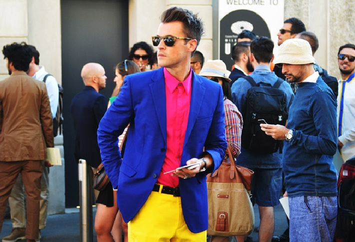 Brad Goreski Tommy Ton Look of the day