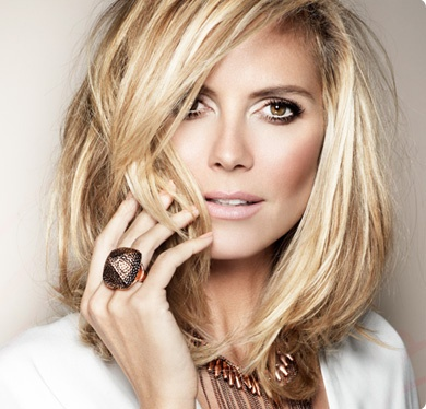 Heidi Klum wearing Wildlife