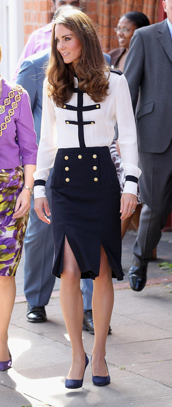 Kate Middleton in Alexander McQueen Military Outfit