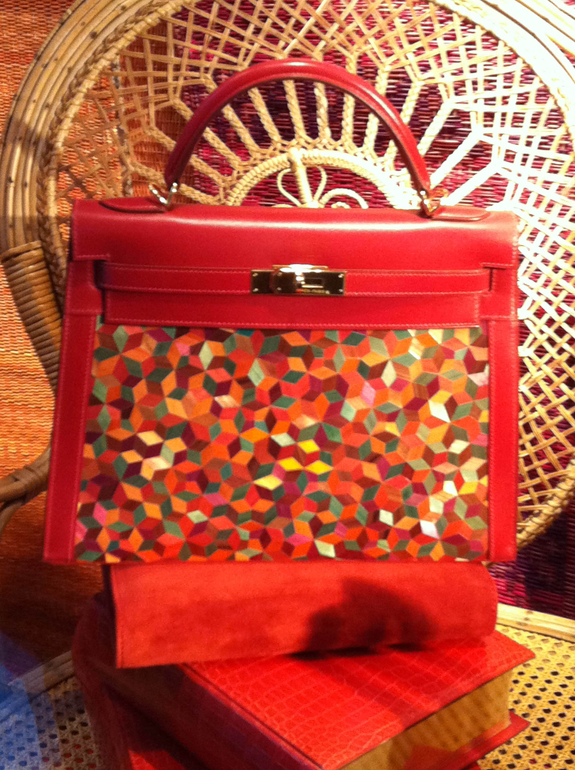 One of a kind Hermes Bag
