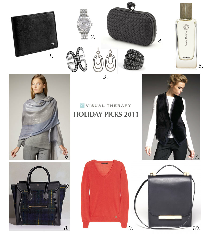 Jesse's Holiday Picks 2011