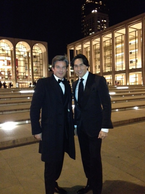 Joe Lupo and Jesse Garza at Lincoln Center