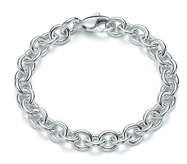 Tiffany Round Link Bracelet