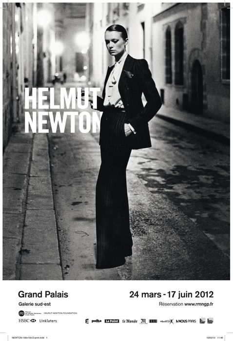 Helmut Newton Grand Palais Exhibition