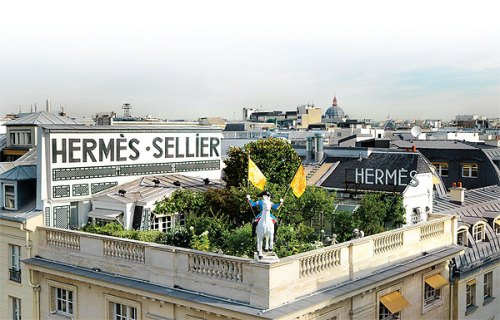 Hermes on rue de Faubourg Saint-Honoré