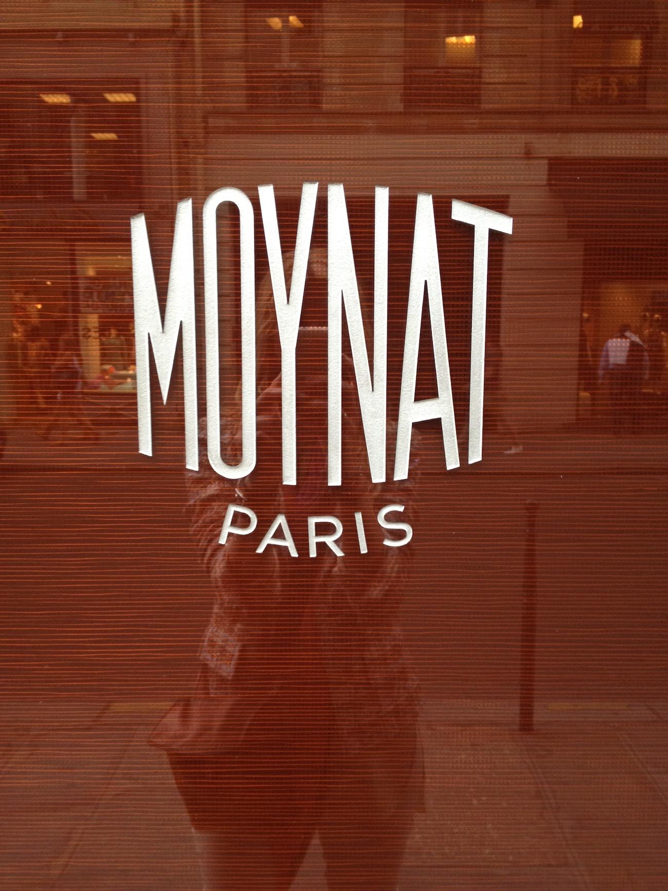 Lisa Marie in the Window of Moynat