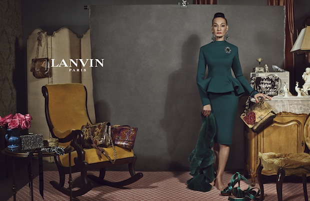 """Jacquie """"Tajah"""" Murdock in Lanvin Fall 2012 Ad Campaign"""