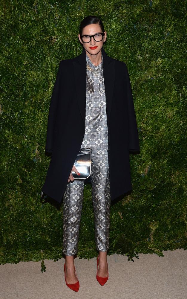 Jenna Lyons in J.Crew at the CFDA/Vogue Fashion Fund Awards