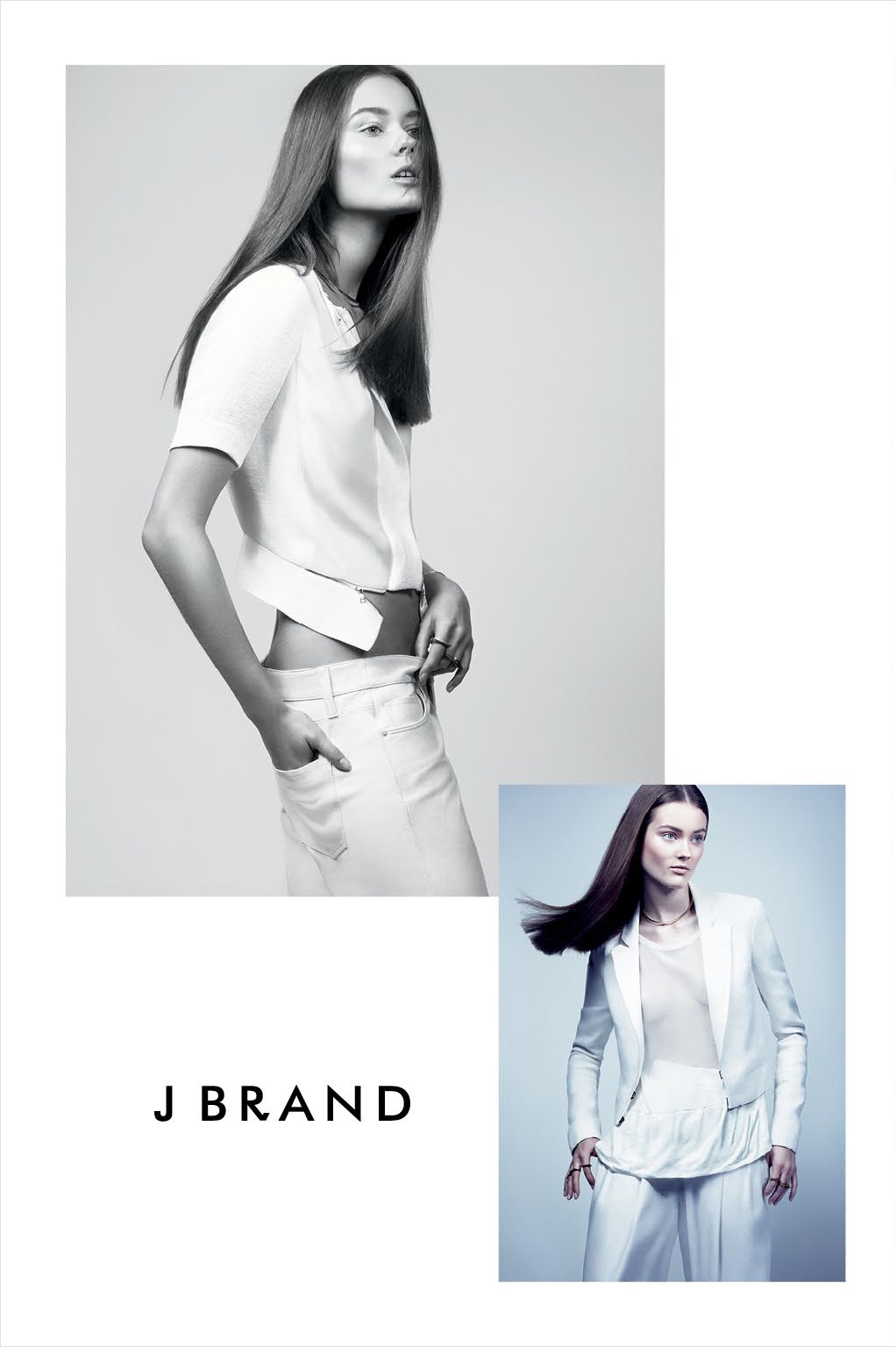 J Brand Spring 2013 Campaign