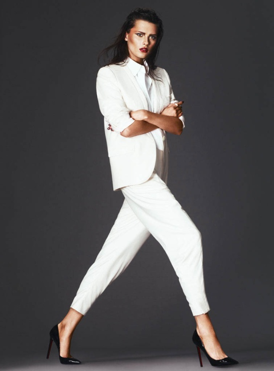 Elena Melnik by Andrew Yee for S Moda