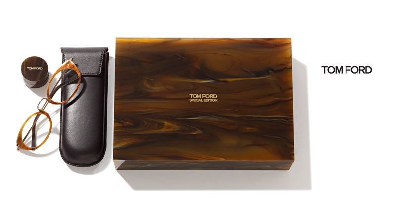 Tom Ford Special Edition specs made from buffalo horn