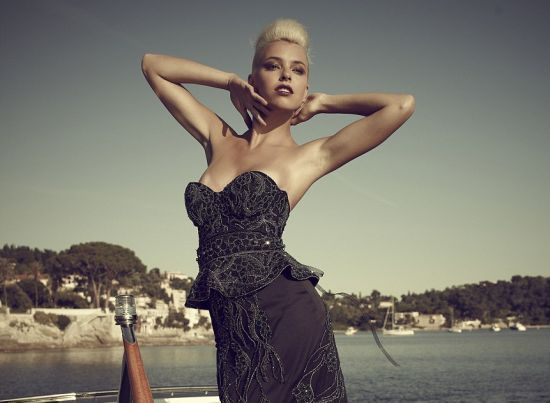 Debbie Wingham Black Diamond Dress