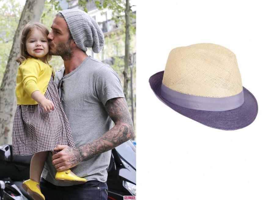 David Beckham | Borsalino Seagrass Fedora