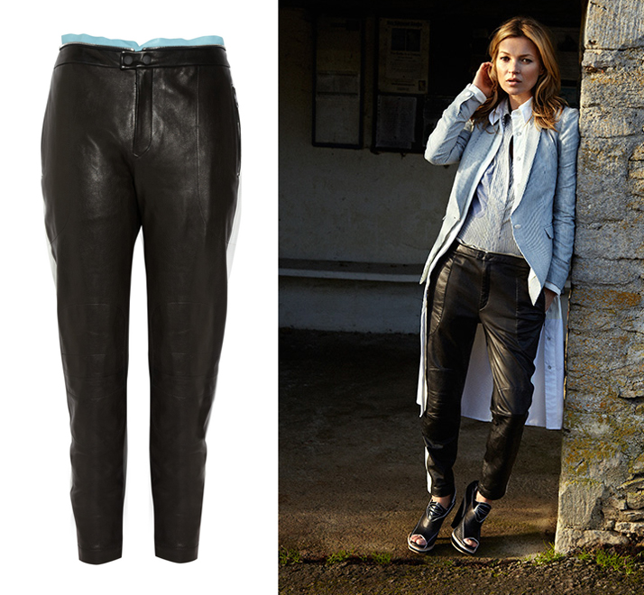 Rag & Bone Dakar Perforated Leather Pants
