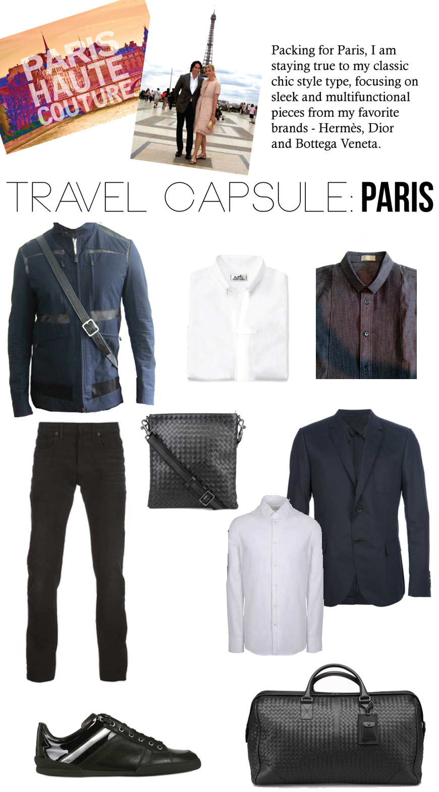 Countdown To Couture: Paris Travel Capsule