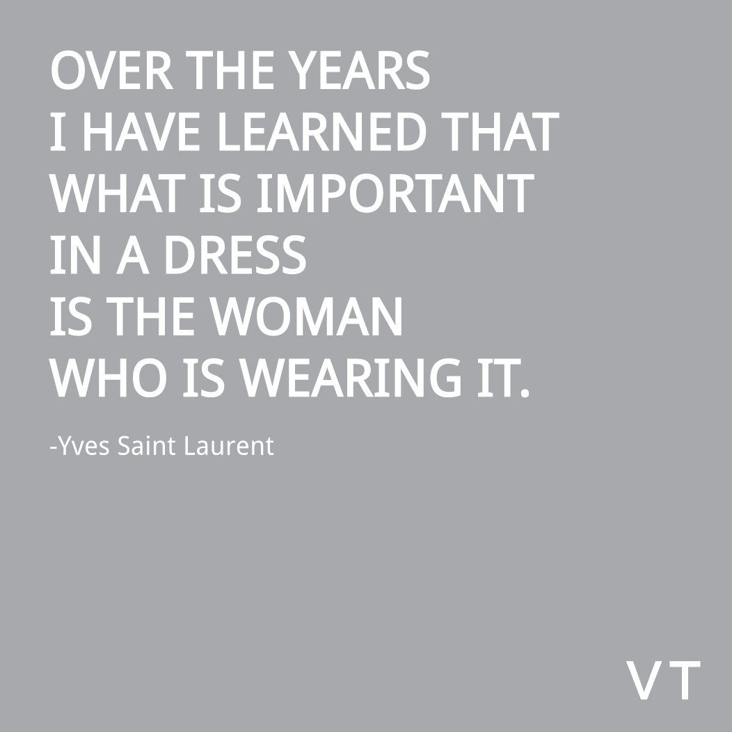 Yves-Saint-Laurent-Quote