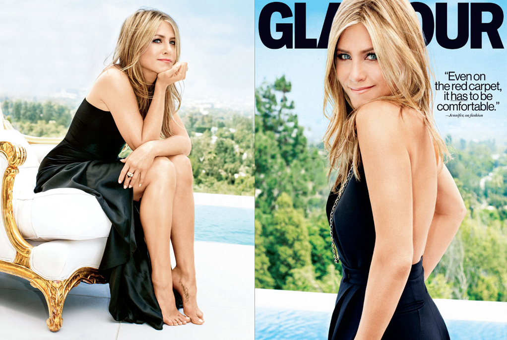 Jennifer Aniston Glamour September 2013