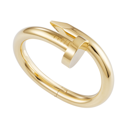 Cartier Juste un Clou 18K Yellow Gold Bracelet, $36500
