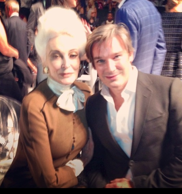 With the fabulous Carmen dell'Orefice