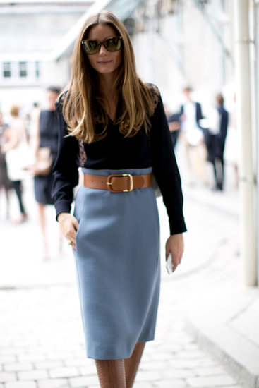 The chic Olivia Palermo at Paris Fashion Week in September 2013