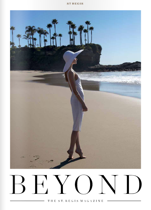 beyond the st regis magazine