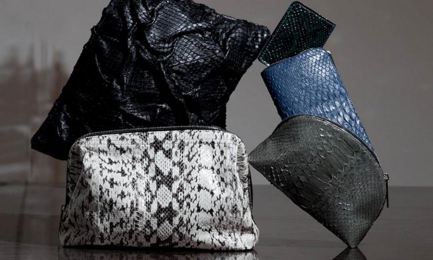 Elisabeth Weinstock Exotic Makeup Bags