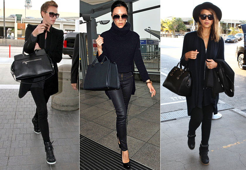 Style Tip Travel Efficiently Celebrity Airport Style Visual Therapy