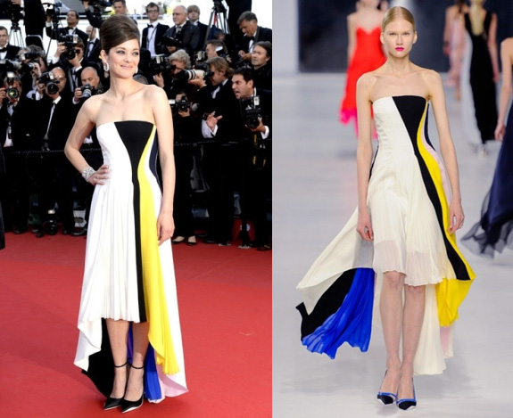 Marion Cotillard in Dior Resort at Cannes Film Festival