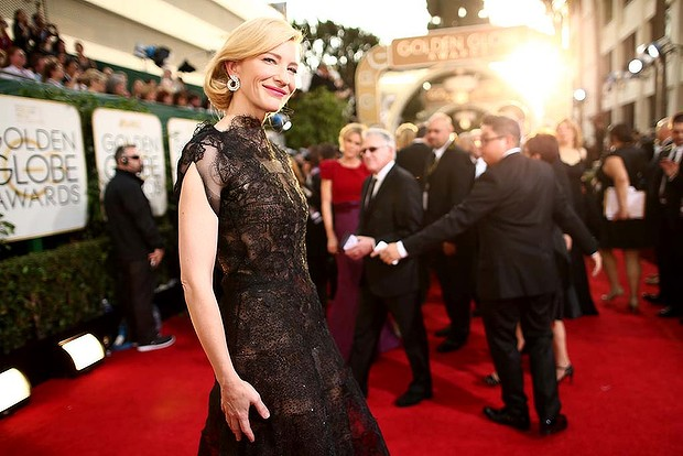 Cate Blanchett at Golden Globes 2014