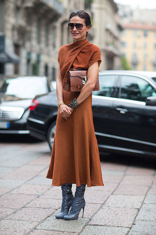 Chic Milan Street Style 2014 Visual Therapy