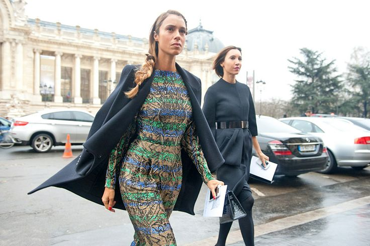 Paris Haute Couture Street Style | Photo via Style and The City