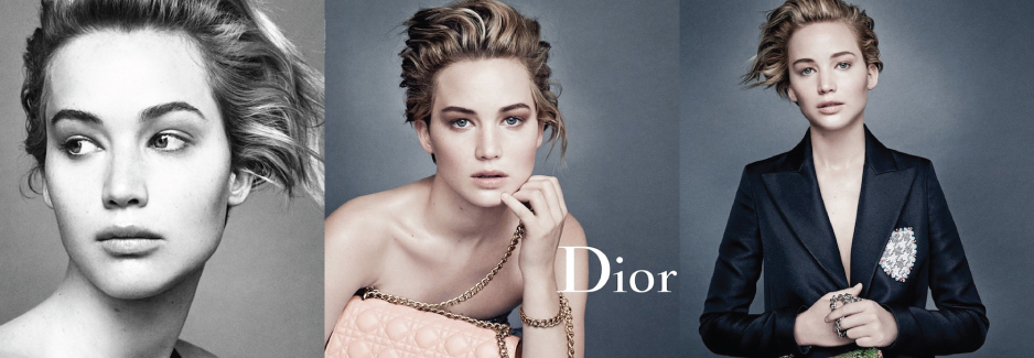 Jennifer Lawrence In Dior S/S 2014 Campaign