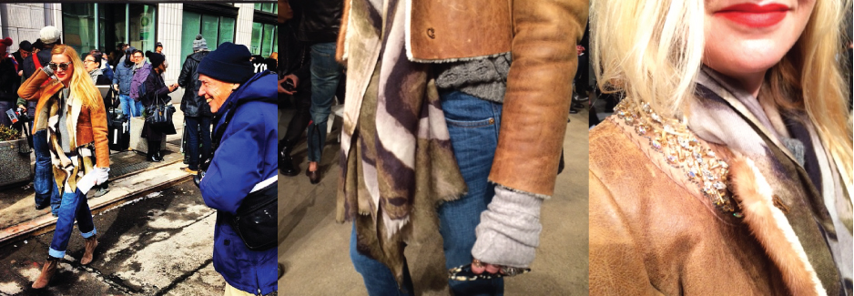 NYFW Fall 2014 Diary: Lisa Marie by Bill Cunningham