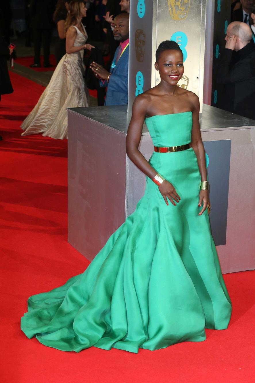 Lupita Nyong'o in Dior Couture