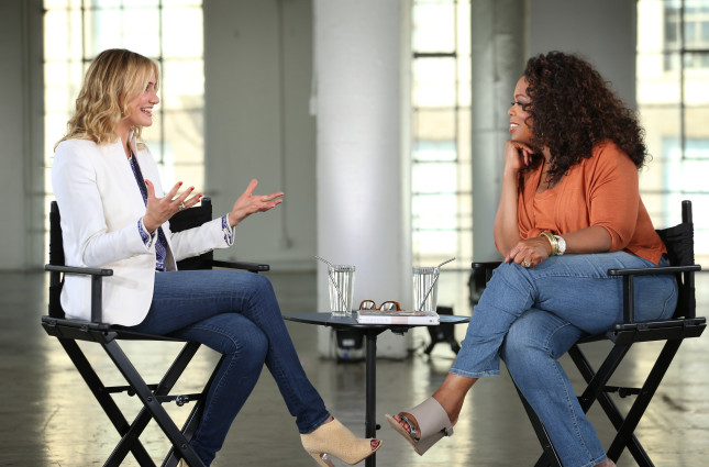 "Cameron Diaz on Oprah's ""Aging Gracefully"""