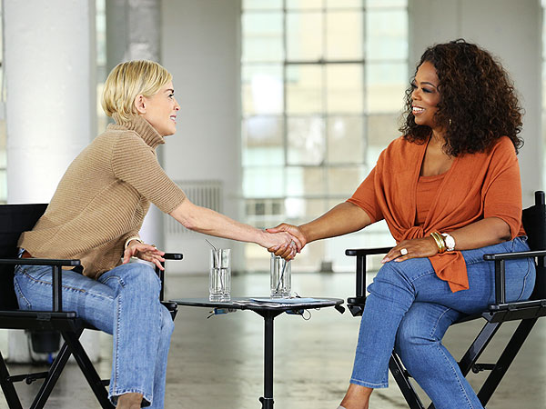 "Sharon Stone on Oprah's ""Aging Gracefully"""