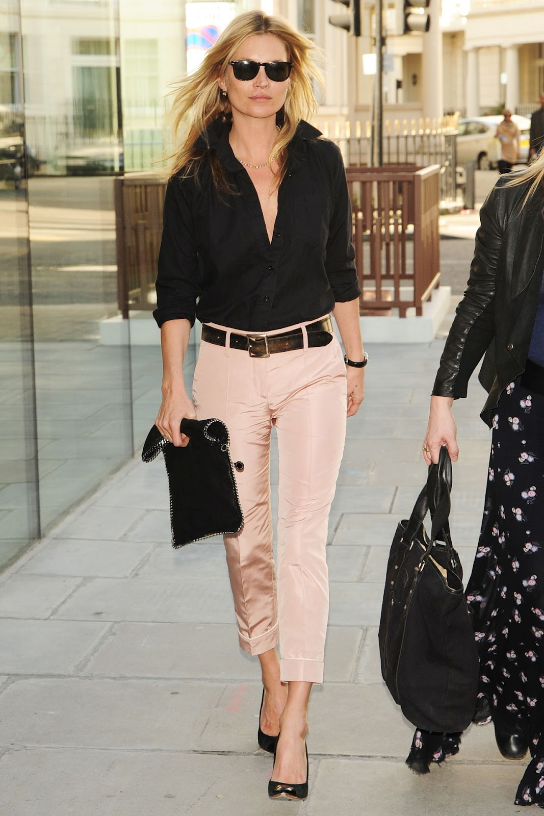 Casual chic 2012 Kate Moss Street Style