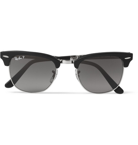 3bb0d65a10 ... wholesale ray ban clubmaster folding sunglasses fb7f5 37af1