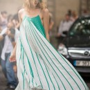 On Trend: 3 Ways To Wear A Pleated Maxi Dress