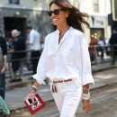 10 Ways To Style White Denim