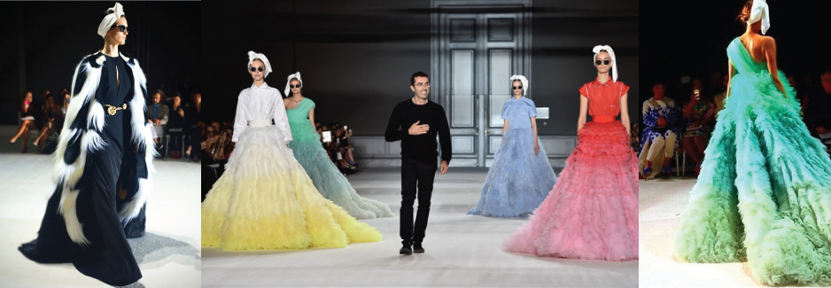 Haute Couture Diary: Giambattista Valli's Retro Into The Future