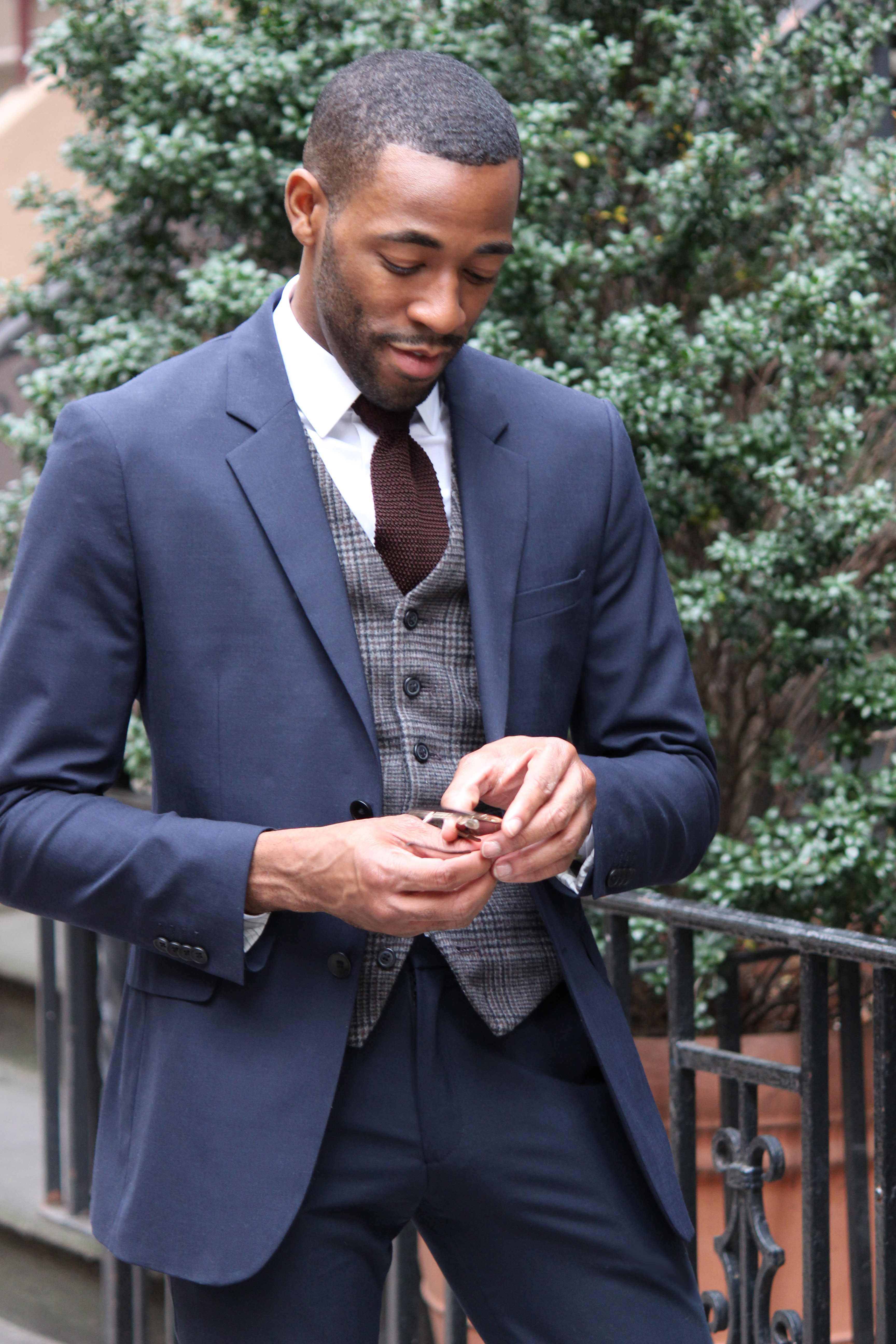 Ryan Clark, founder of High Fashion Men