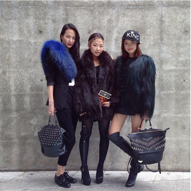 Seoul Fashion Week SS'15 Street Style