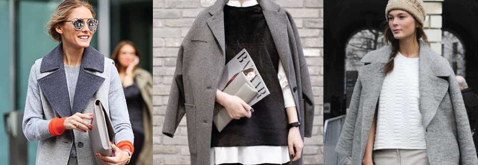 Style Tip: 3 Ways To Style A Chic Grey Coat