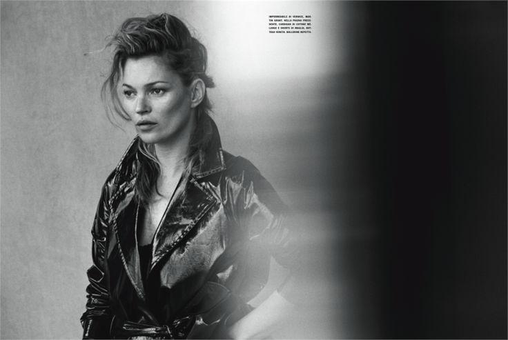 Kate Moss Vogue Italia Peter Lindbergh